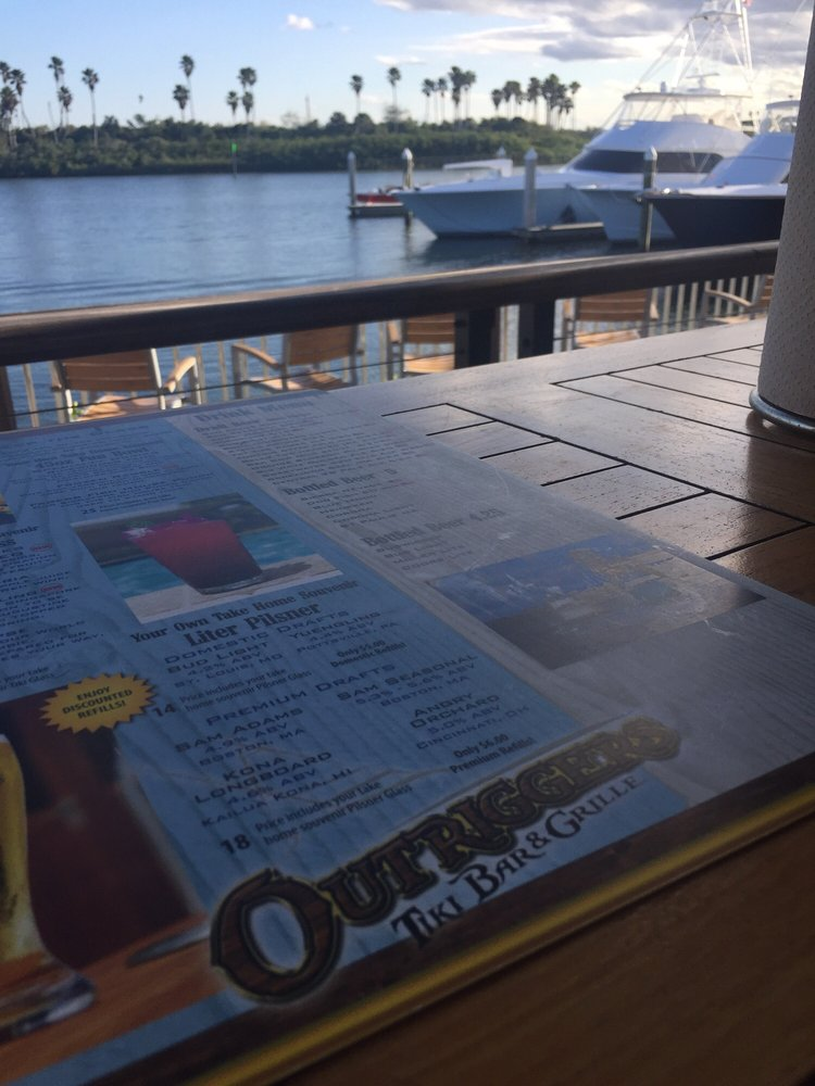 Outriggers Tiki Bar and Grille in New Smyrna Beach, FL